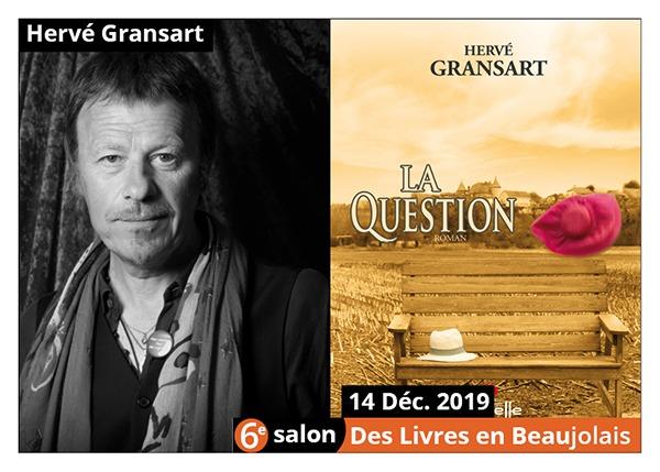 Hervé Gransart - 6e Salon des Livres en Beaujolais 2019