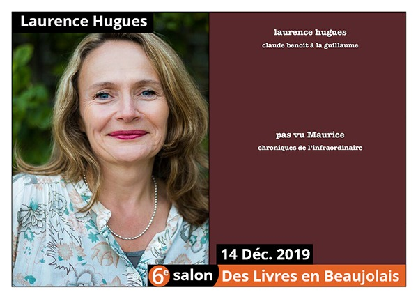 Laurence Hugues - 6e Salon des Livres en Beaujolais 2019