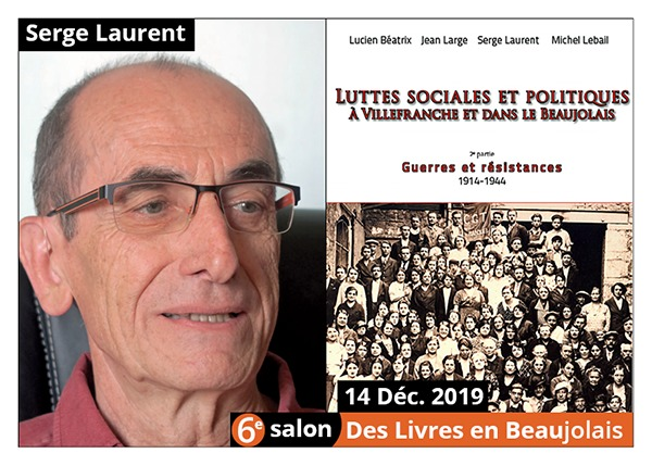 Serge Laurent - 6e Salon des Livres en Beaujolais 2019