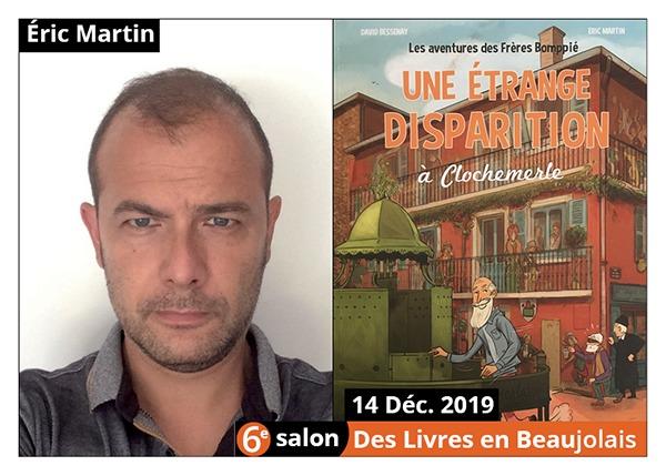 Éric Martin - 6e Salon des Livres en Beaujolais