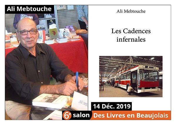 Ali Mebtouche - 6e Salon des Livres en Beaujolais 2019
