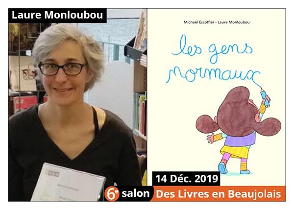 Laure Monloubou - 6e Salon des Livres en Beaujolais 2019