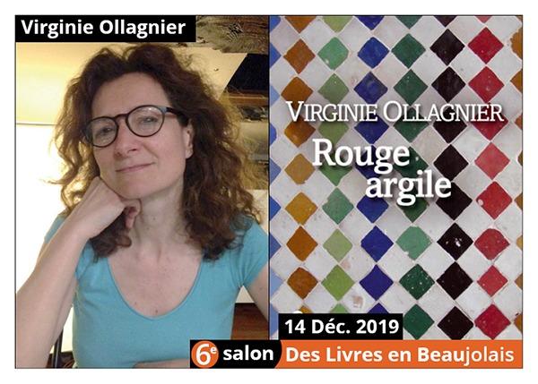 Virginie Ollagnier - 6e Salon des Livres en Beaujolais 2019