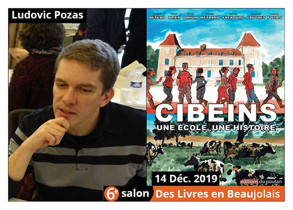 Ludovic Pozas - 6e Salon des Livres en Beaujolais 2019
