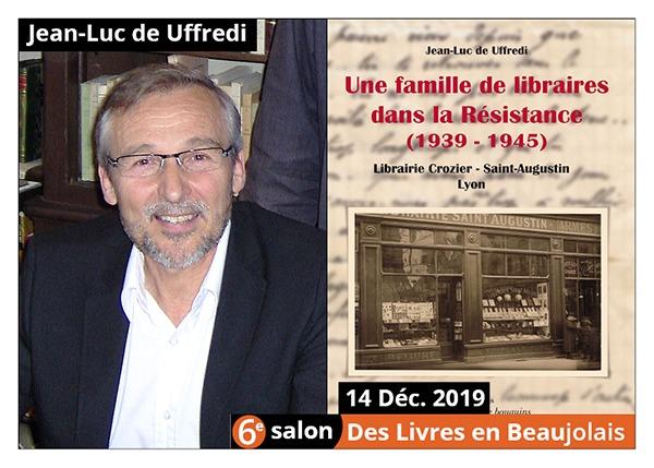 Jean-Luc de Uffredi - 6e Salon des Livres en Beaujolais 2019