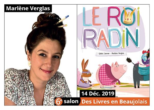 Marlène Verglas - 6e Salon des Livres en Beaujolais 2019