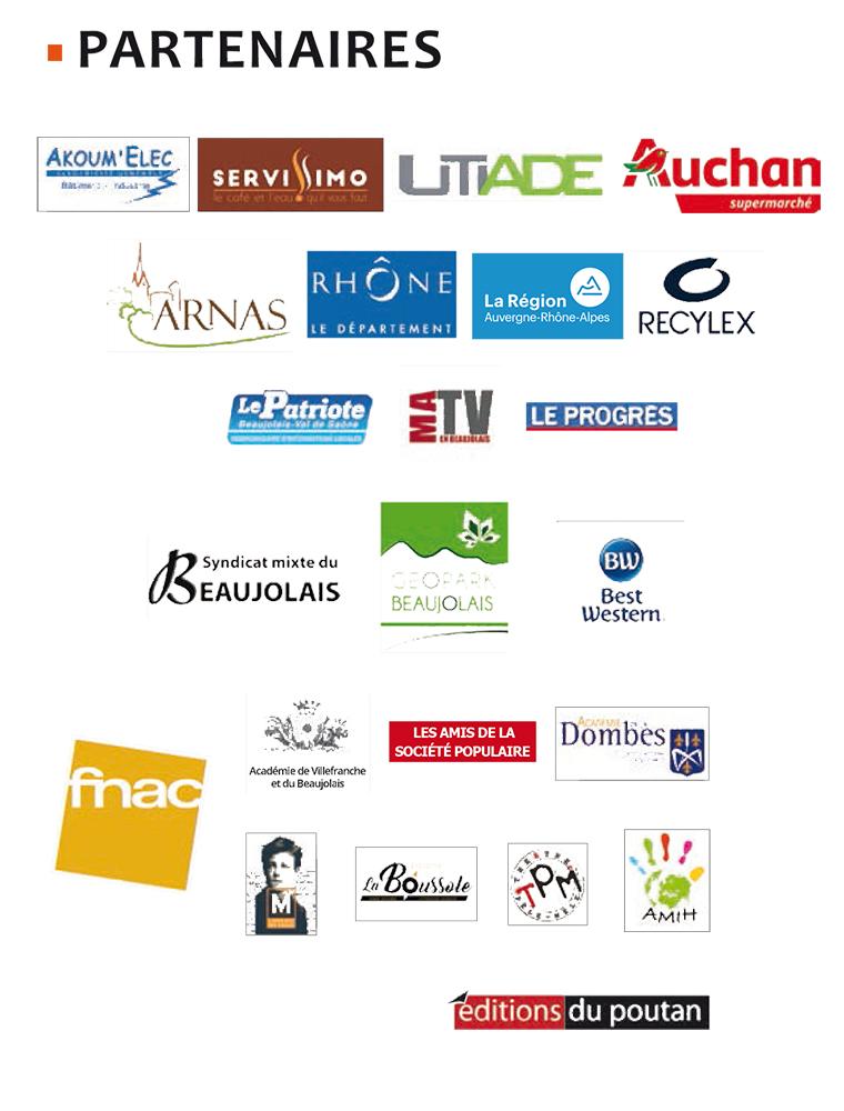 Partenaires 6e sdl beaujolais 2019