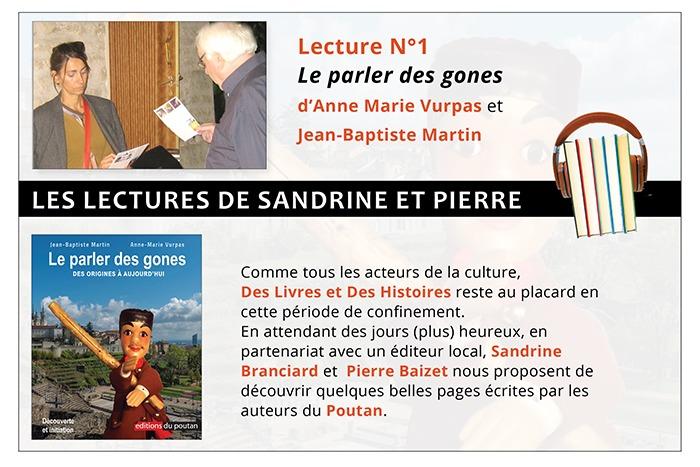 Les lectures de Sandrine et Pierre - Le parler des gones