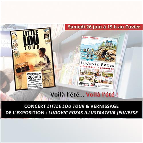 Voilà l'été… voilà l'été… qui démarre en beauté avec un concert et une exposition !