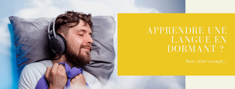 apprendre en dormant