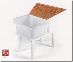 Voici le matériel Montessori idéal pour réaliser l'activité lavoir (Gonzagarredi). Mais pour éviter de procratiner et faire simple, on peut faire avec mes moyens du bord.