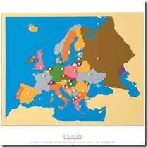 carte europe Nienhuis