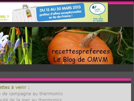 Le blog de OMVM