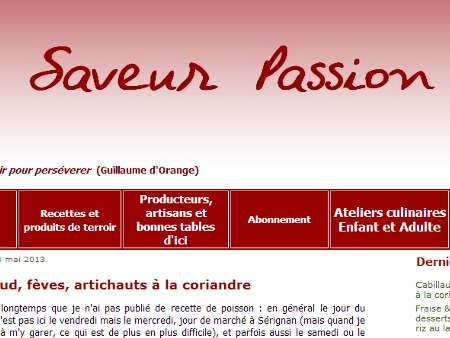Saveur passion