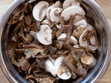 Risotto aux champignons rôtis