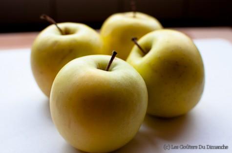 Tarte aux pomme et amandes