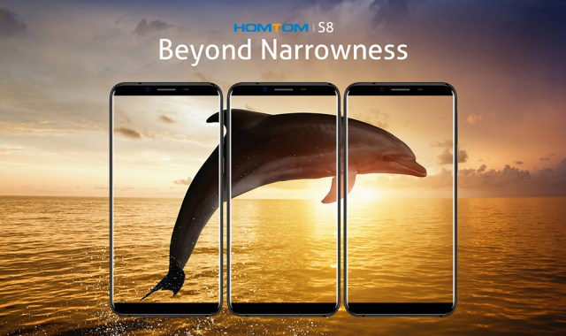 HOMTOM S8 4G Phablet Android 7.0 5.7 inch MTK6750T Octa Core 1.5GHz 4GB RAM 64GB ROM 16.0MP + 5.0MP Dual Rear Cameras Smart Gesture Fingerprint Touch Sensor homtom s8, prima clona de samsung s8 ce intra in magazine