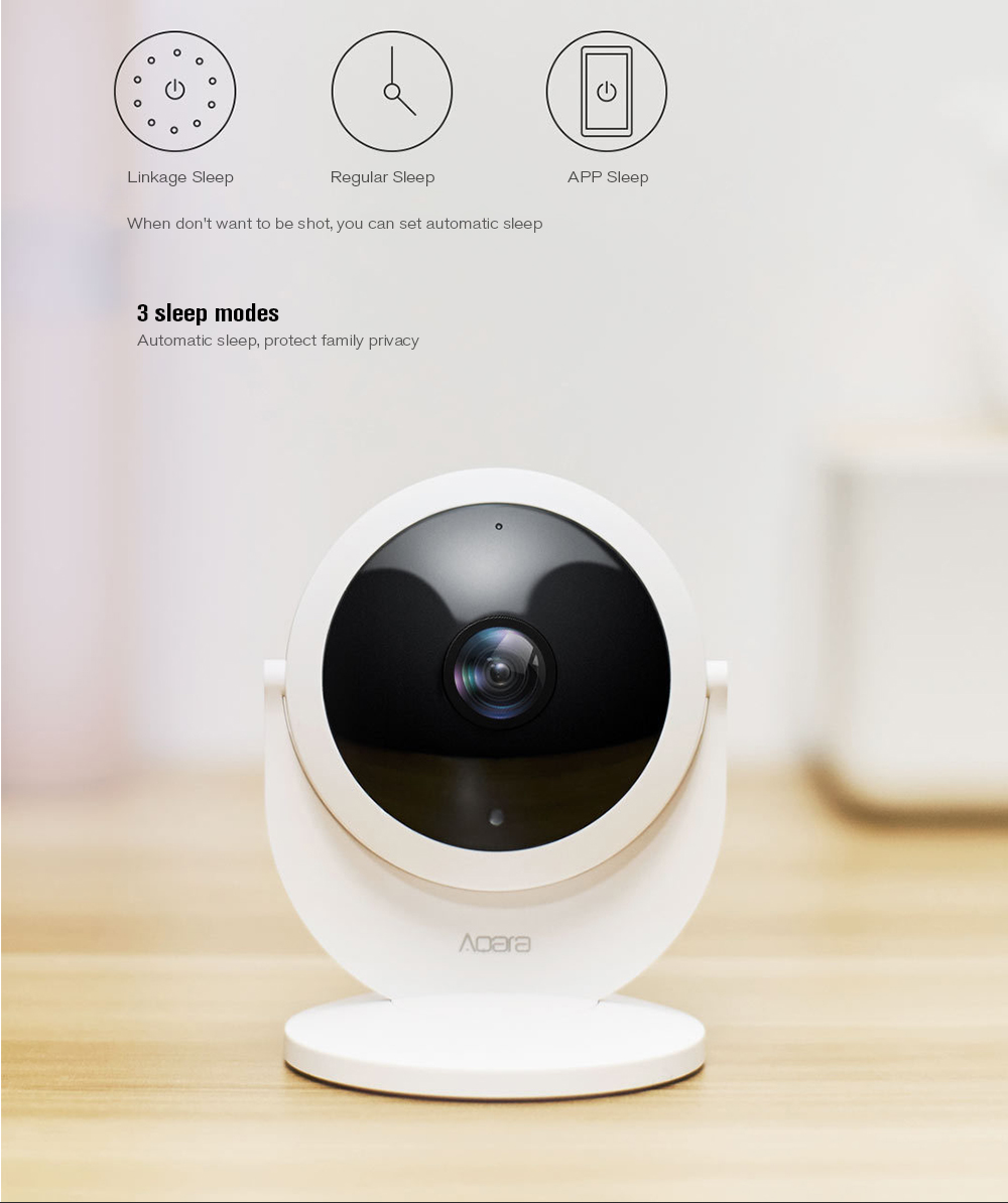 Aqara Smart Security Moniteur Caméra IP de la passerelle 1080P HD - Blanc