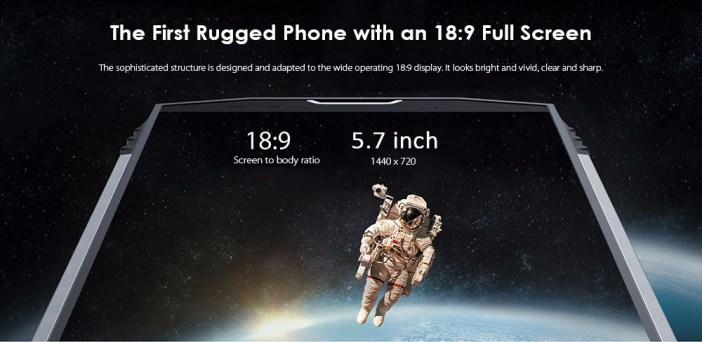 Blackview BV9000 Pro 4G Phablet 5.7 inch Android 7.1 MTK6757CD Octa Core 2.6GHz 6GB RAM 128GB ROM 13.0MP + 5.0MP Dual Rear Cameras NFC OTG