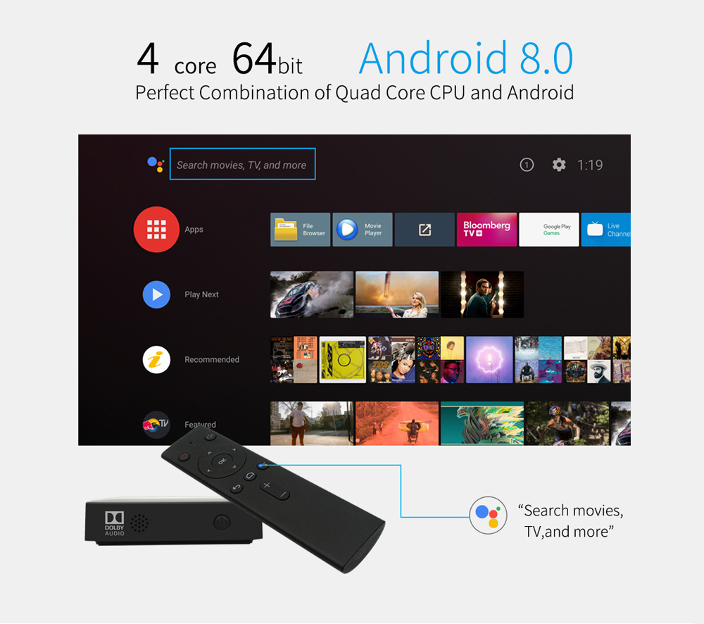 Mecool KM8 Android TV