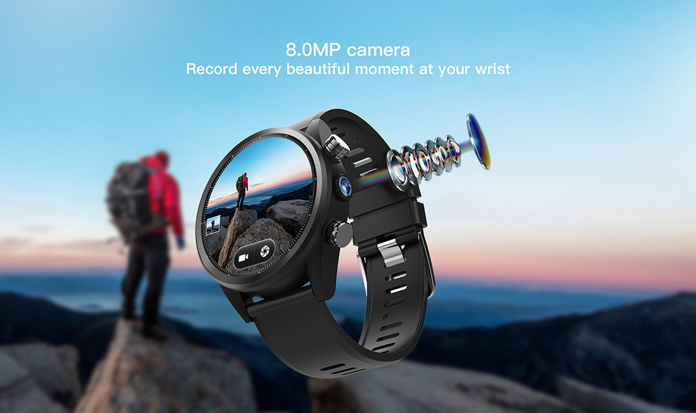Kospet Hope 4G Smartwatch Phone For 8.99: First Smartwatch With 3GB RAM+32GB ROM