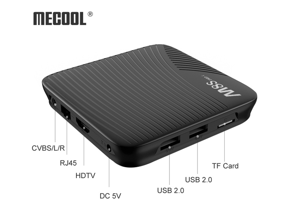 MECOOL M8S PRO L 4K TV Box Sale, Price & Reviews | Gearbest