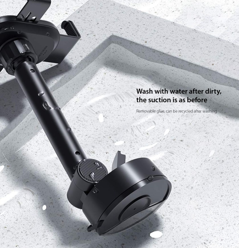Baseus SUYL-JY01 Simplism Gravity Car Mount Holder Wash with water after dirty, the suction is as before