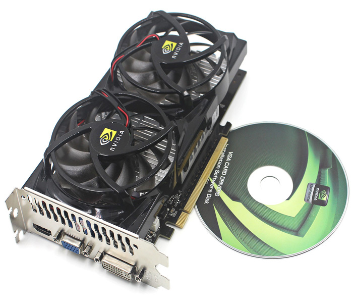 NVIDIA GT9800 G92 GDDR3 512MB 256 Bit PCI ExpressX16 Grafische Kaart Board Built-in 75mm Cooling Fan