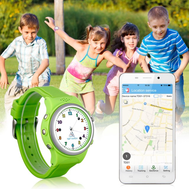 Top Watch Kids Smart Watch GPS LBS Double Location Safe Children Watch Activity Tracker SOS Call SIM Card for Android and ios