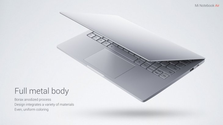 Xiaomi Air 12 Notebook Windows 10 Intel Core m3-6Y30 Dual Core 12.5 inch IPS Screen 4GB RAM 128GB SSD Front Camera Bluetooth 4.1 Type-C