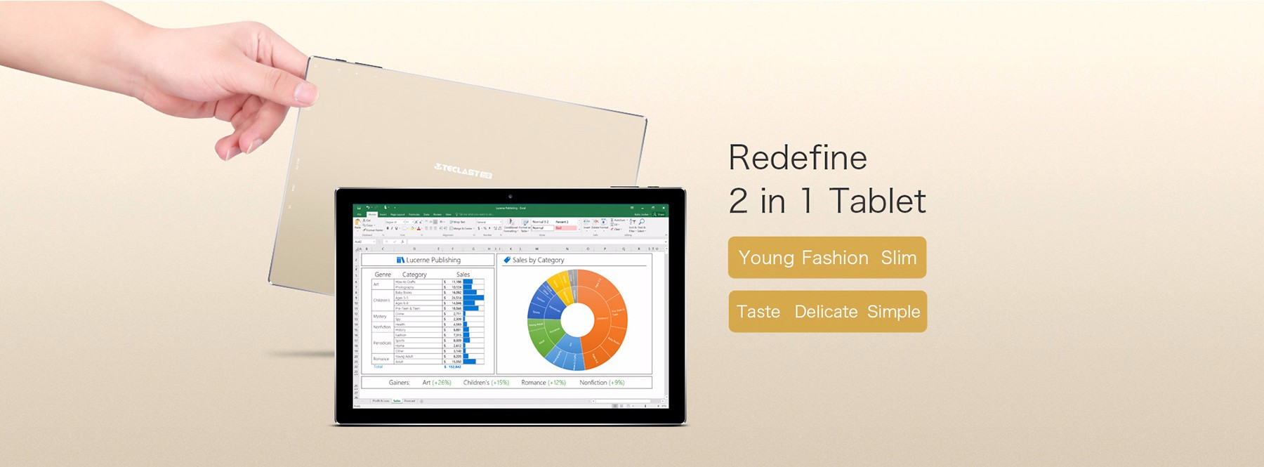Teclast réper 10 S 2 en 1 Tablet PC 10.1 pouces de Windows 10 + Android 5.1 IPS Écran Intel Cerisier Trail X5 Z8350 64bit Quad Core 1.44GHz 4GB RAM 64GB ROM Bluetooth 4.0