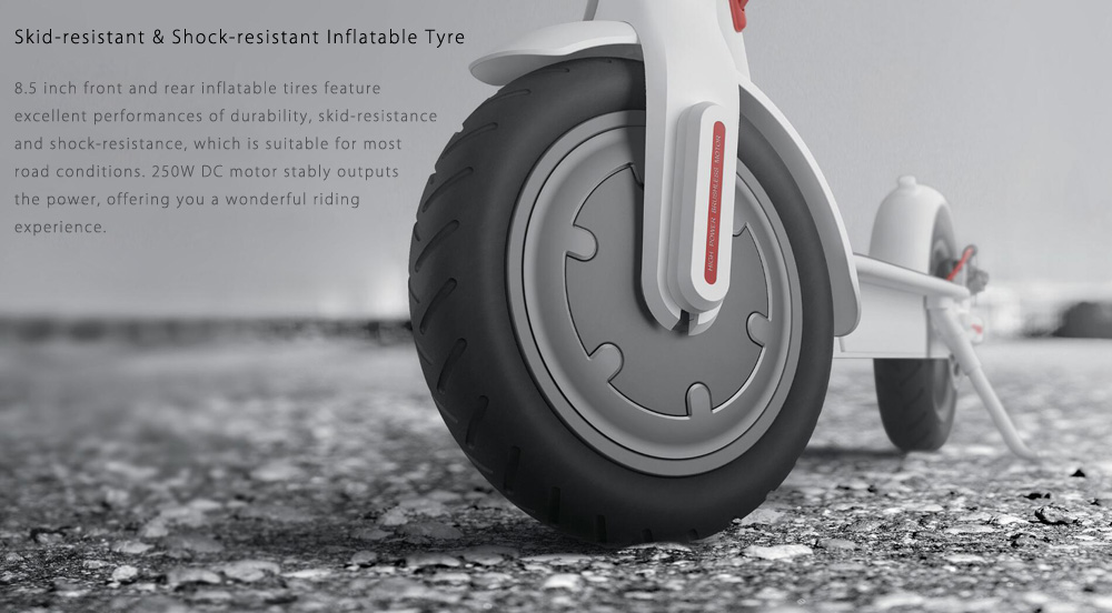 Original Xiaomi M365 électrique pliant planche à roulettes Ultralight Scooter avec E - Fonction ABS Kinetic Energy Recovery Cruise Control Intelligent System BMS