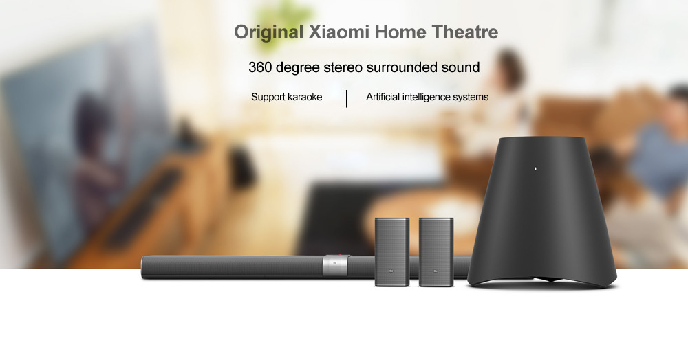 Système Xiaomi Bluetooth 4.1 Home Cinema Active Multimedia System Support Dual Band WiFi