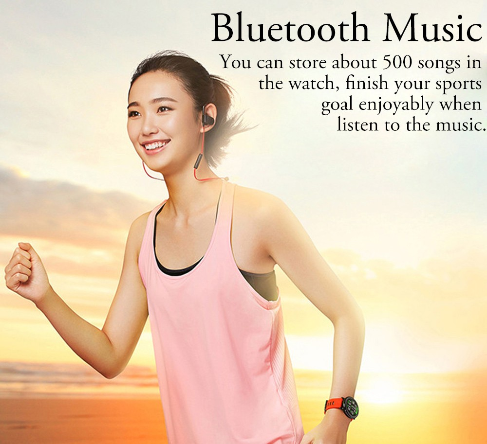 Original Xiaomi AMAZFIT Bluetooth 4.0 Heart Rate Monitor Sports Smart Watch GPS Real-time Track Wristband