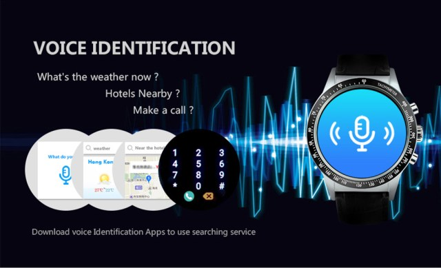 Y3 1.39 inch Android 5.1 Smartwatch Phone MTK6580 1.3GHz Quad Core 4GB ROM Pedometer Bluetooth