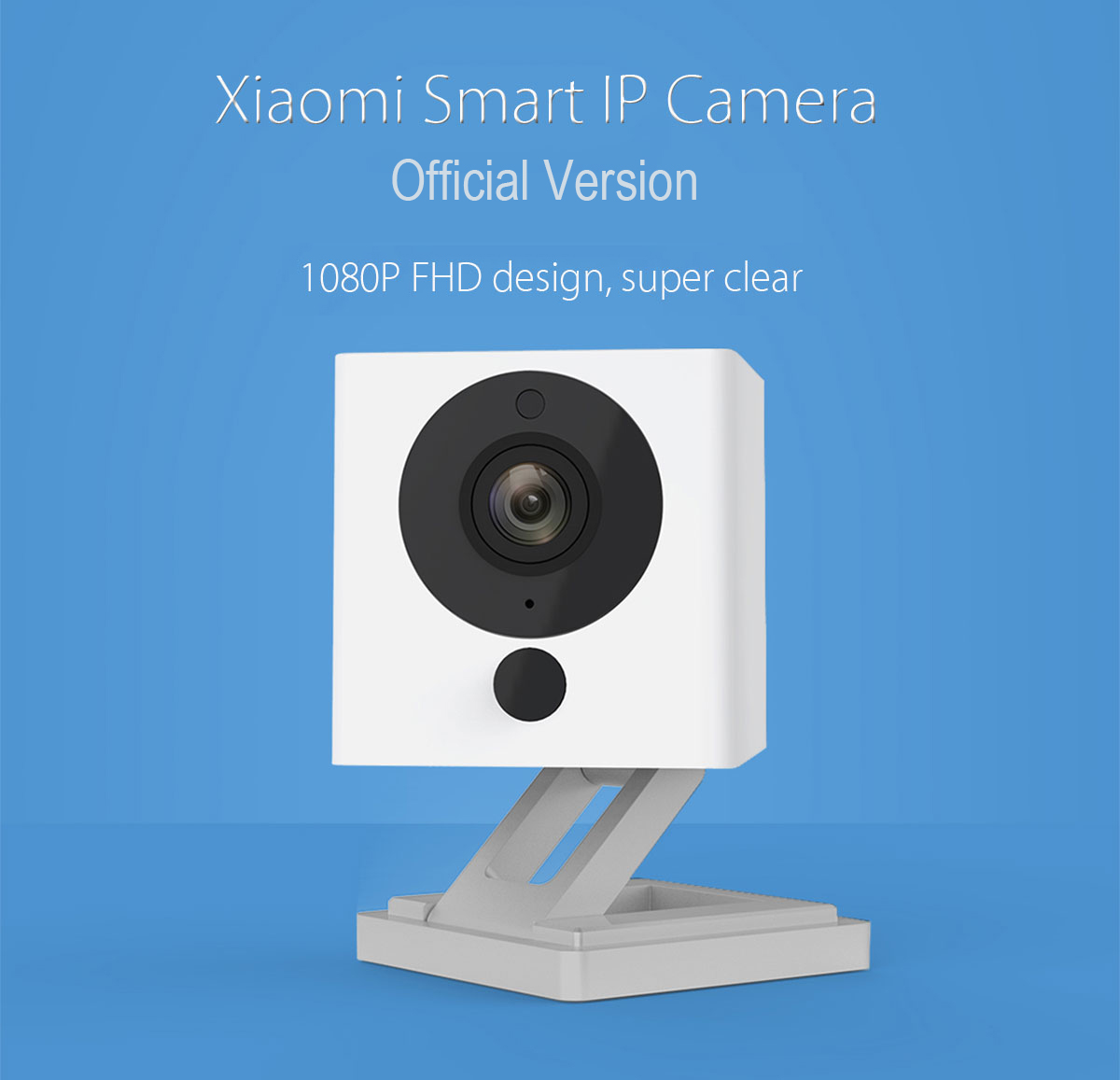 Xiaomi 1080P Smart WiFi IP Camera Official Version Night Vision IR-cut Motion Detection 110 Degree FOV