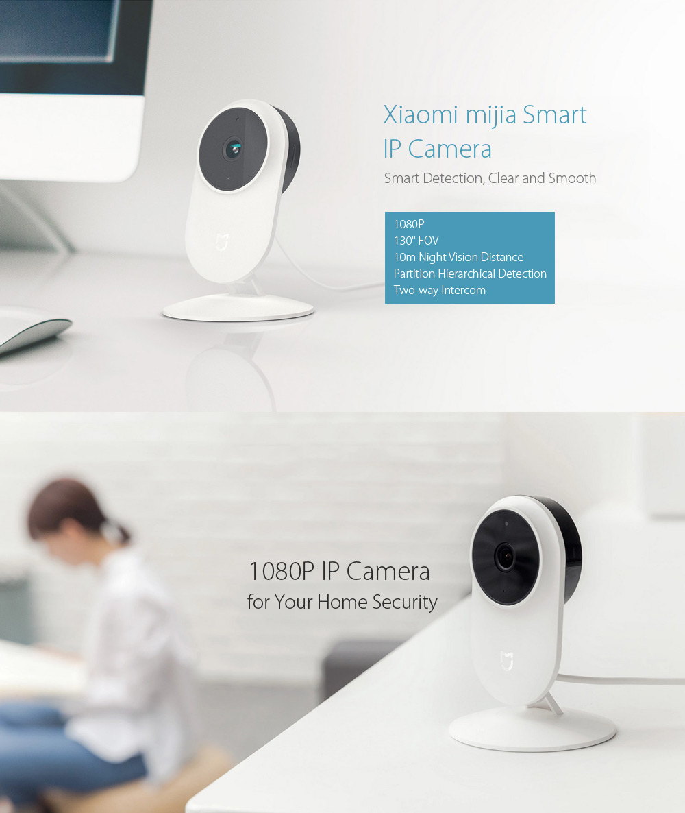 Xiaomi mijia 1080P Le Smart IP Caméra WiFi Dual-band