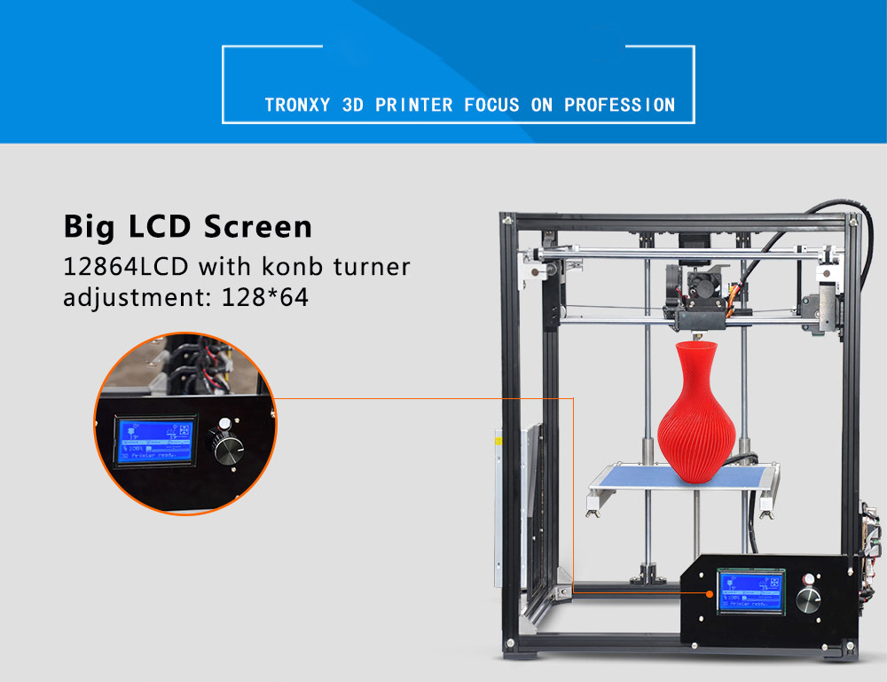 Tronxy X5 Aluminium Profile 3D Printer