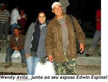 Wendy com Edwin
