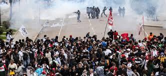 Repressão policial em Curitiba