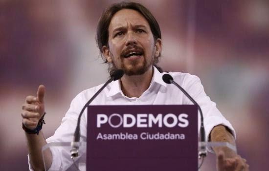 Pablo Iglesias-PODEMOS-Estado espanhol
