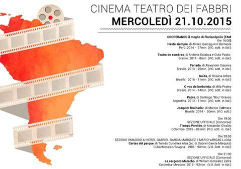 Vencedores do FAM 2015 no Festival Latino-americano de Cinema de Trieste
