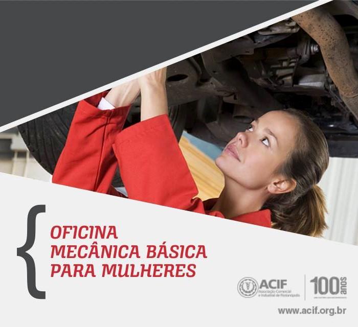 Oficina Mecânica Básica para Mulheres