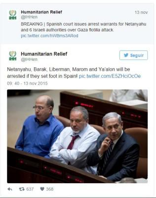 Netanyahu espanha
