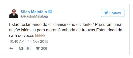 malafaia twitter