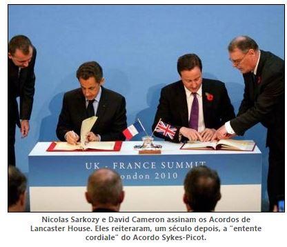 Por que quer a França derrubar a República Árabe da Síria?