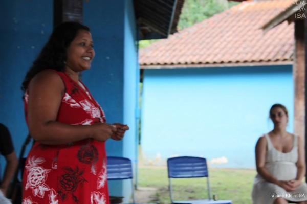 Poty Poran, da escola Guarani da TI Tenondé Porã, SP|Tatiane Klein-ISA