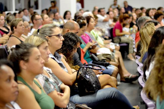 Servidores mantém estado de greve e exigem garantias I Foto: Francine Hellmann