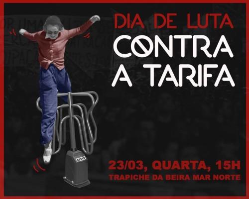 Dia de luta contra a tarifa – Tarifa zero em Florianópolis