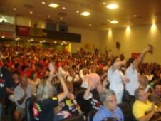 Manifestantes pediam Auditoria Já e até greve geral